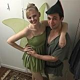 Tinkerbell and Peter Pan