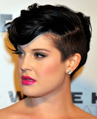 Kelly Osbourne's Lipstick at Flaunt Magazine Party