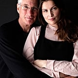 Richard Gere and Laetitia Casta cuddled up in promotion of their film Arbitrage.