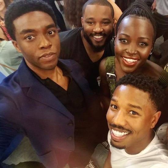 Black Panther Cast Instagram Pictures