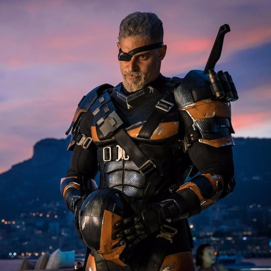 Joe Manganiello's Deathstroke Costume on Instagram 2017