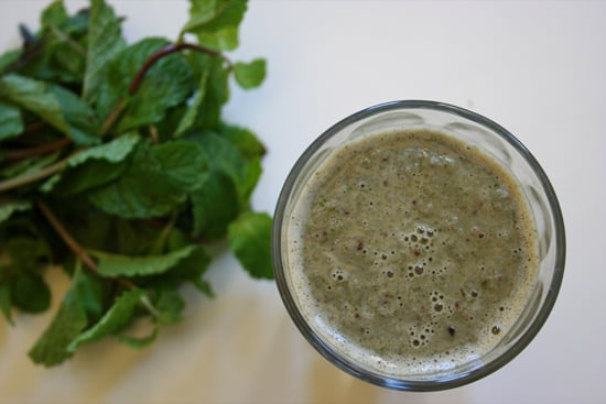 Healthy Mint Chocolate Chip Shake