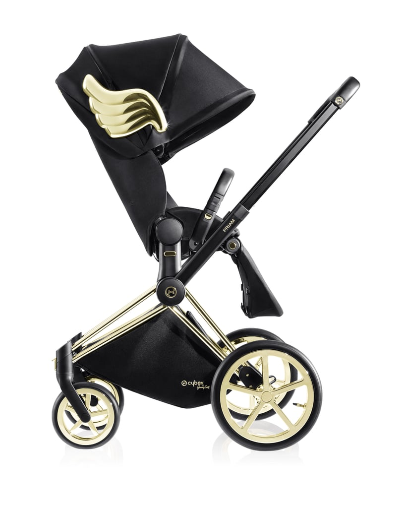 Young Versace White Baby Stroller Beautiful Luxury Strollers