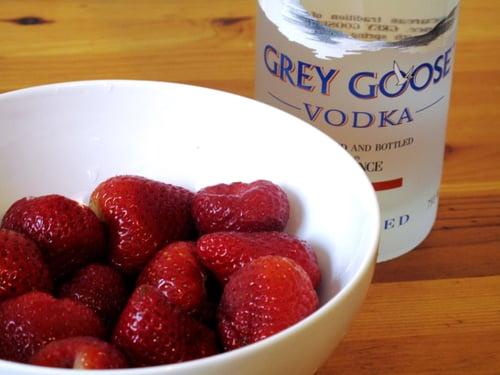 Strawberry-Ginger Caipirosca