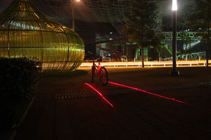 Bikelane, the Bike-Path Projector