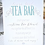 Loose-Leaf Tea Bar