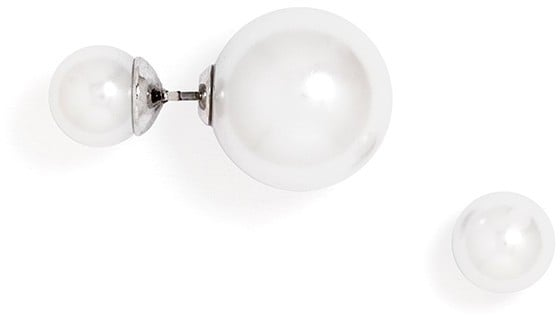 BaubleBar Double-Sided Pearl Studs