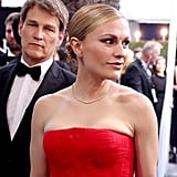 Stephen Moyer and Anna Paquin at the 2020 SAG Awards