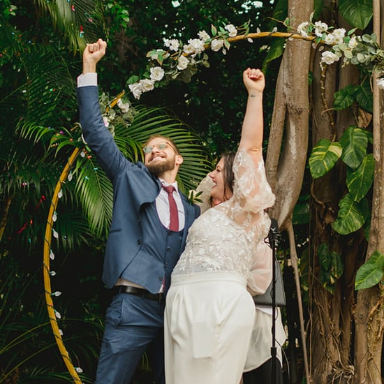 See Photos From This Miami Couple's Backyard Microwedding