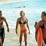 Michelle Rodriguez, Kate Bosworth, and Sanoe Lake, Blue Crush