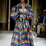 A Rainbow Gown From the Christian Siriano Runway at New York Fashion Week