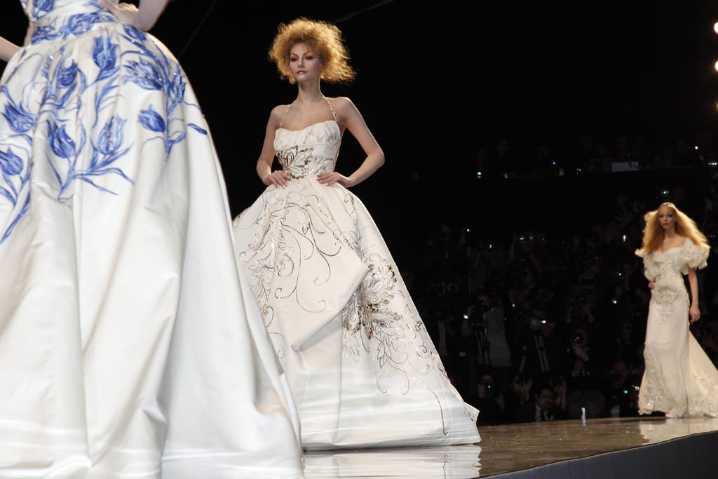 Spring 2009 Dior Proves Couture Still Going Strong