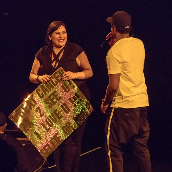 JAY-Z Brings Cancer Survivor on Stage at Concert
