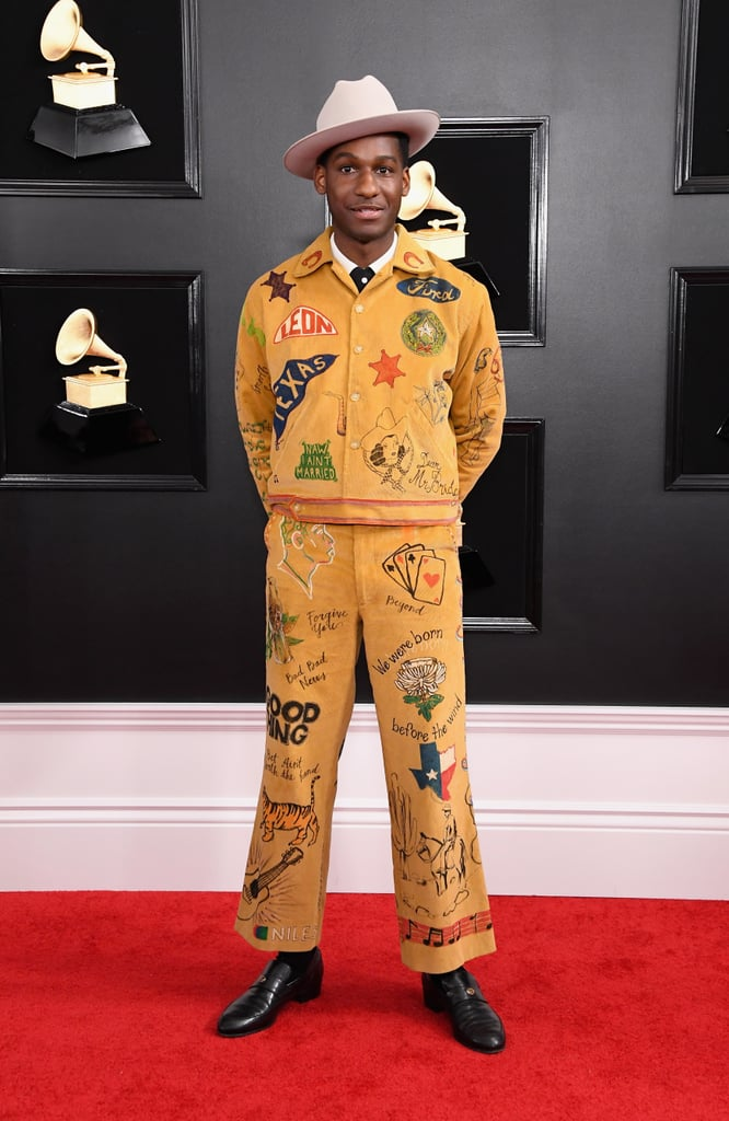 Leon Bridges at the 2019 Grammy Awards
