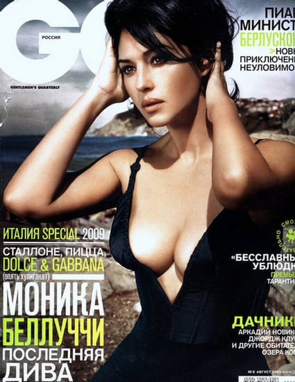 Monica Bellucci does GQ Russia-august 09