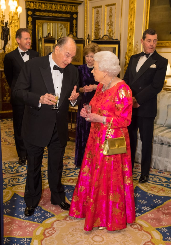 Queen Elizabeth's Gold Launer Handbag