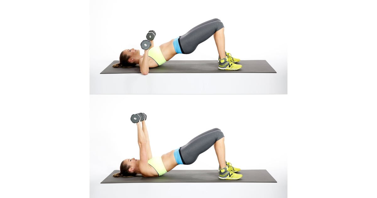 Circuit One: Bridge With Chest Press | Circuit Workout ...