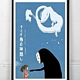 Miyazaki Inspired Minimalist Movie Poster Print — Spirited Away (inquire for price)