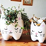 Recycled Bottle Planters