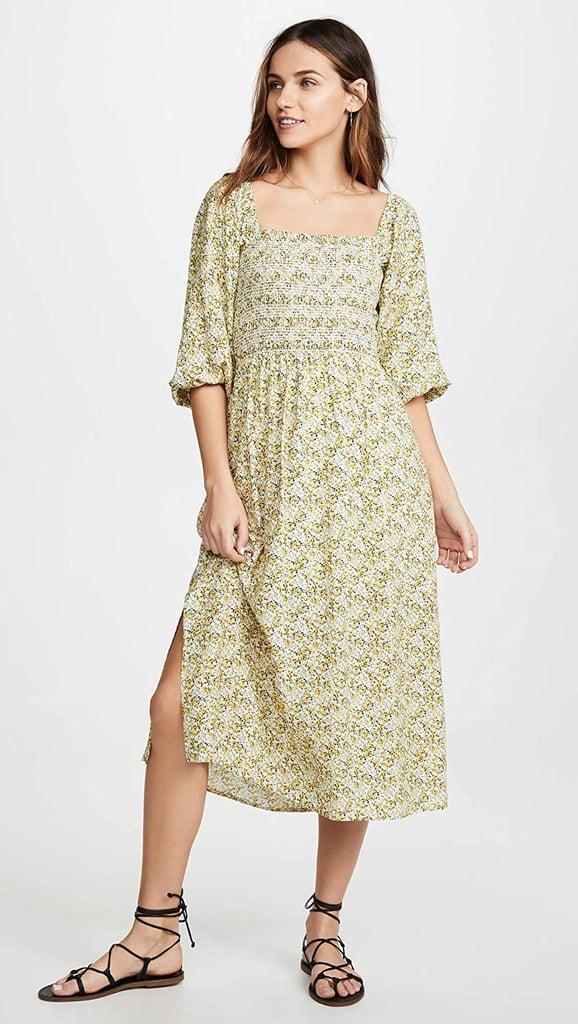 0e32d8f06fbd Wayf Nevah Smocked Midi Dress | Best Summer Dresses on Amazon 2019 ...