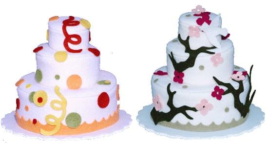Toy Box: Felt Play Cakes