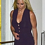 Britney Spears had dinner at ABC Kitchen in NYC.