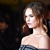 Lily James For Burberry