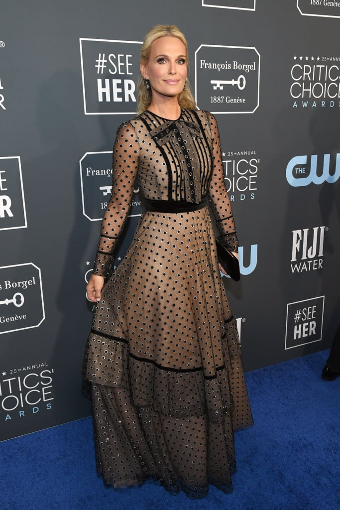 Molly Sims at the 2020 Critics' Choice Awards