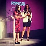 Allison and Noria presented (and showed off two sweet Spring looks) at this week's PopSugar NewFronts.