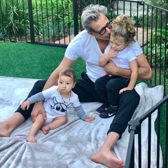 Jeff Goldblum Quotes on Fatherhood March 2018