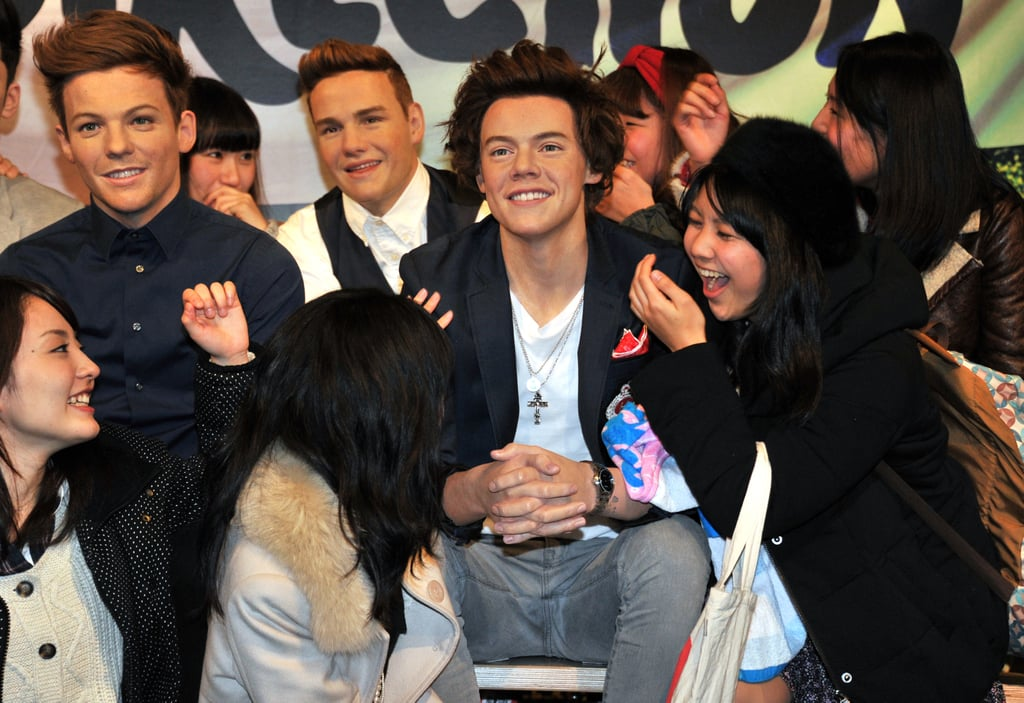 Careful With Those One Direction Wax Figures, Ladies
