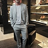 RJ King at the opening of Canali's Madison Avenue flagship store in New York. Source: Paul Porter/BFAnyc.com