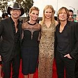 Tim McGraw, Faith Hill, Nicole Kidman, and Keith Urban