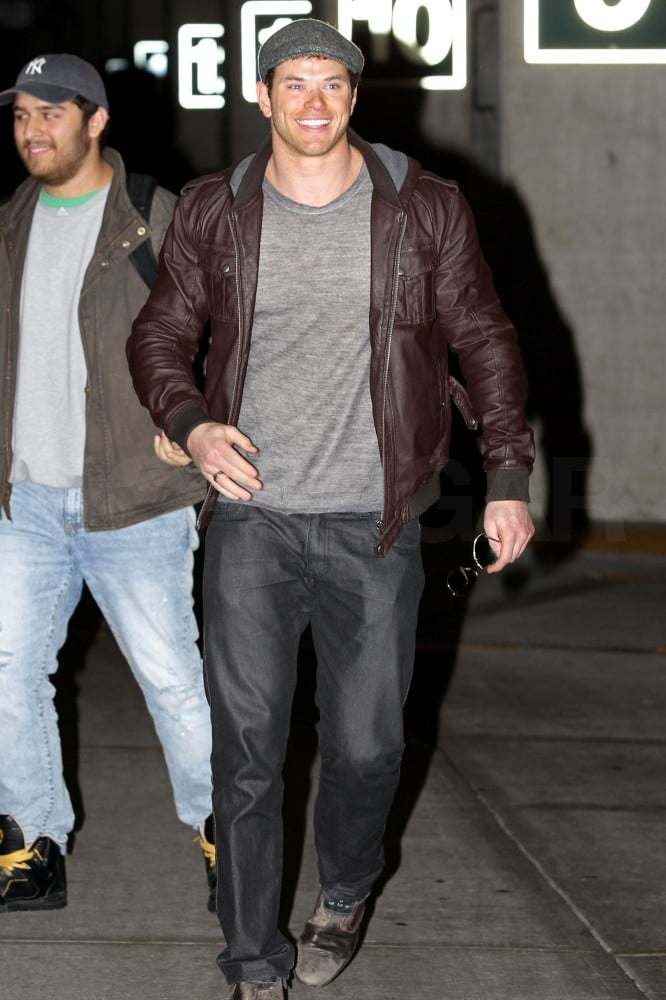 Kellan Lutz Heads North to Join In on the Breaking Dawn Fun