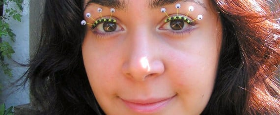 This Eyelash Jewelry From Etsy Makes You Look Like a Sugarplum Fairy