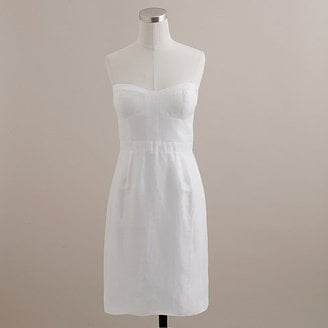 J.Crew Strapless White Dress