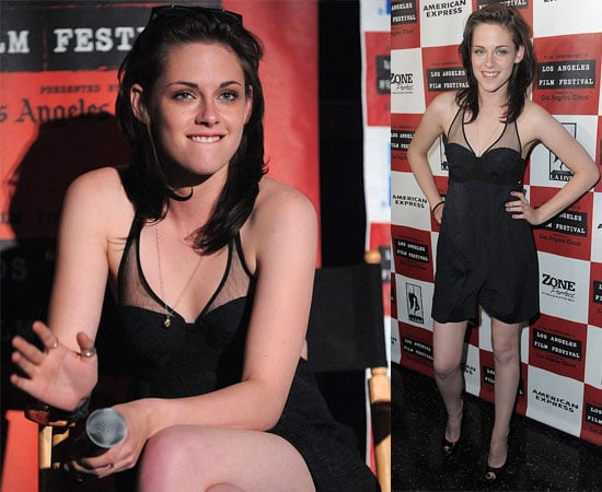 Pictures of Kristen Stewart at the Premiere of Welcome to the Rileys 2010-06-27 03:46:55