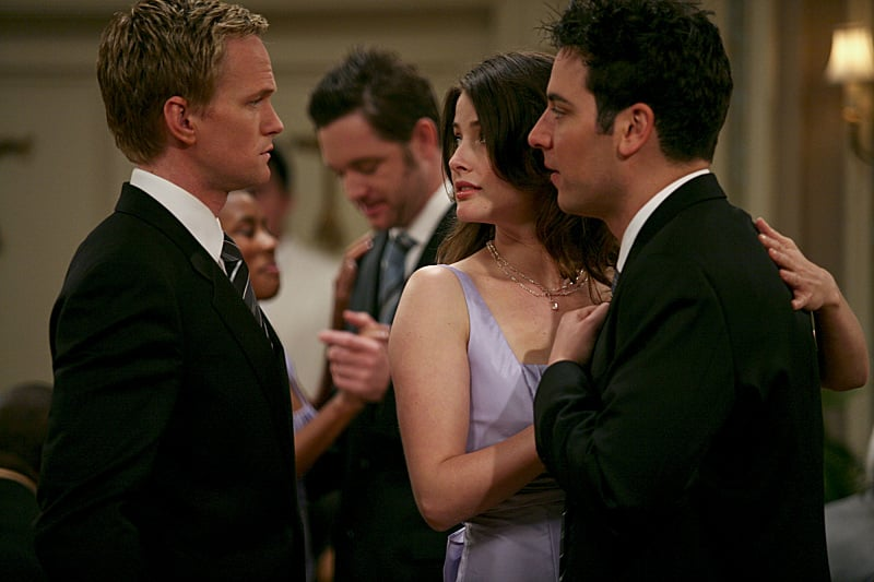 That awkward moment that highlights Robin's choice between Ted and Barney.