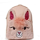 Llama Donna Fur Mini Backpac