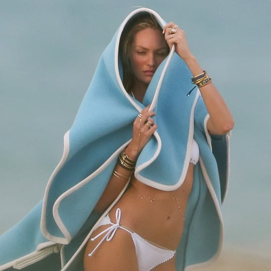 Candice Swanepoel's Bikini Photo Shoot in Miami