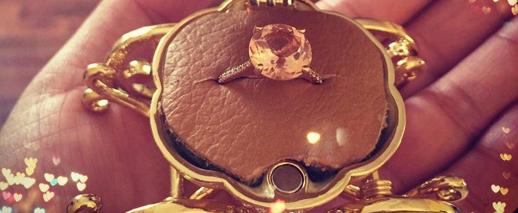 Cinderella Carriage Engagement Ring Box