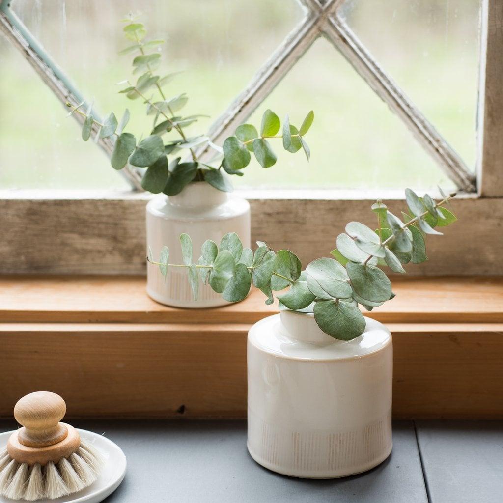 Cora Ivory Ceramic Vase