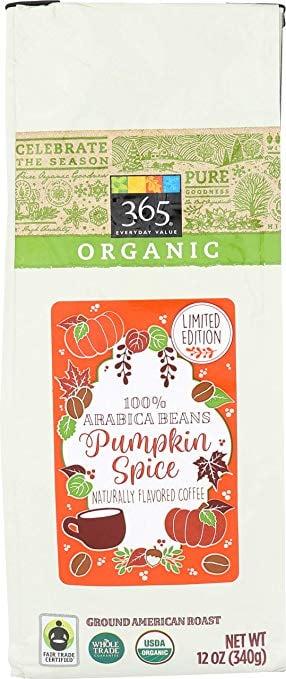 365 Everyday Value Ground Pumpkin Spice Coffee ($7 ...