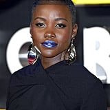 Lupita Nyong'o's Netted Pompadour in 2015