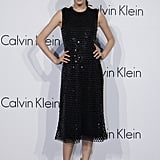 Model Lee Hyun-Yi attended the Calvin Klein Collections event in South Korea.