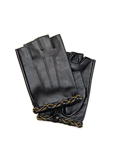 While these fingerless-meets-driving gloves may be most useful for those mildly chilly days, we love the braided detail too much to pass these up. TOUCH Braided Fingerless Gloves ($45)