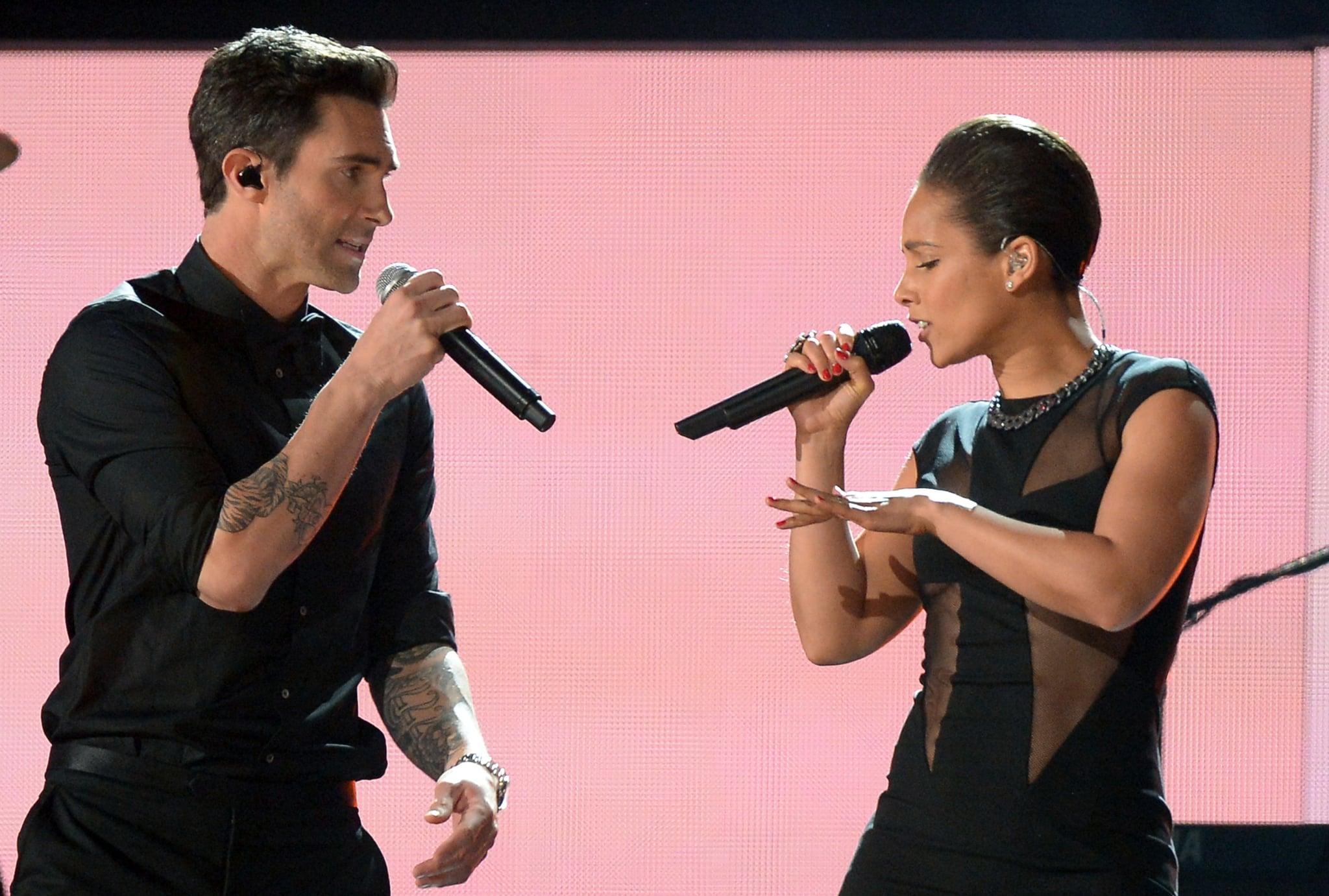 Maroon 5 and Alicia Keys