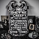 Addams Family Sign