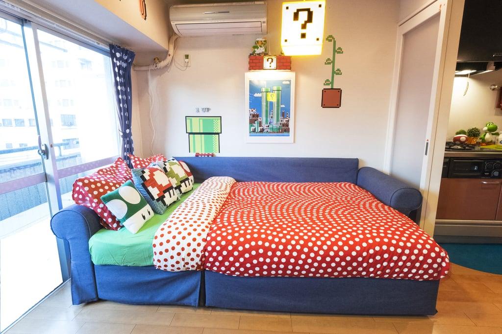 Super Mario Bros Airbnb in Tokyo | POPSUGAR Tech