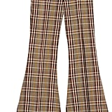 Gucci Plaid Wool Stirrup Pant